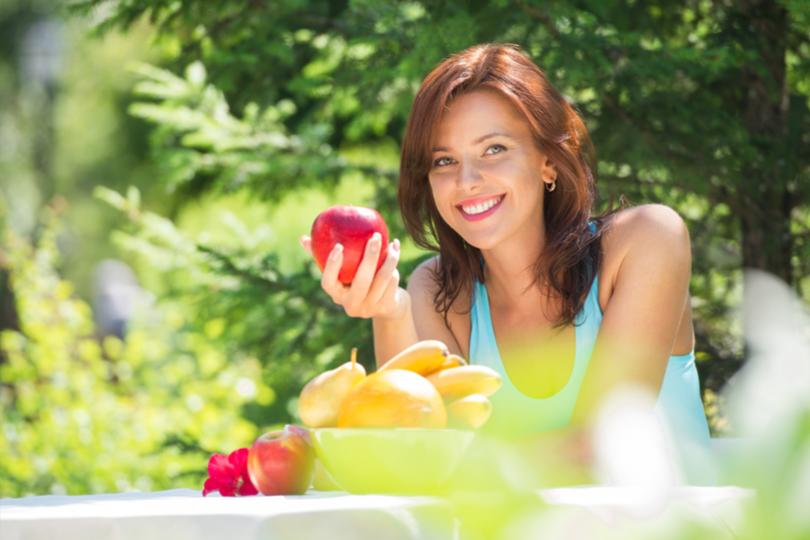 Os benefícios da maçã para a saúde
