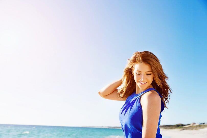 Cuidados com a beleza na praia