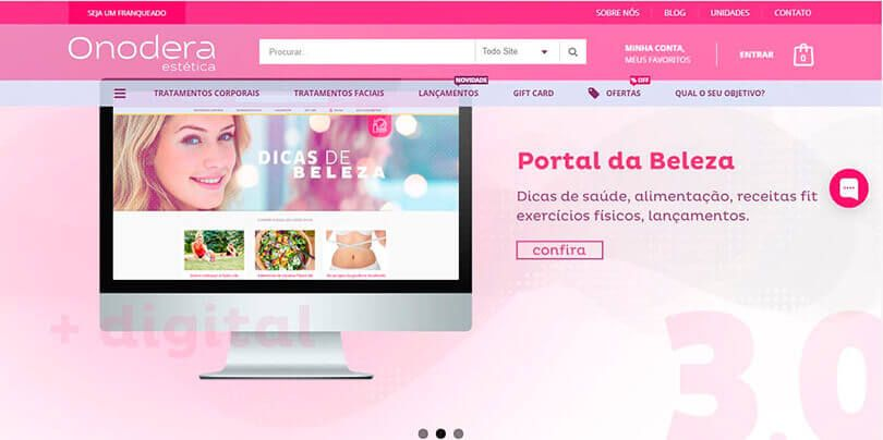 Onodera lança novo portal 3.0 na internet