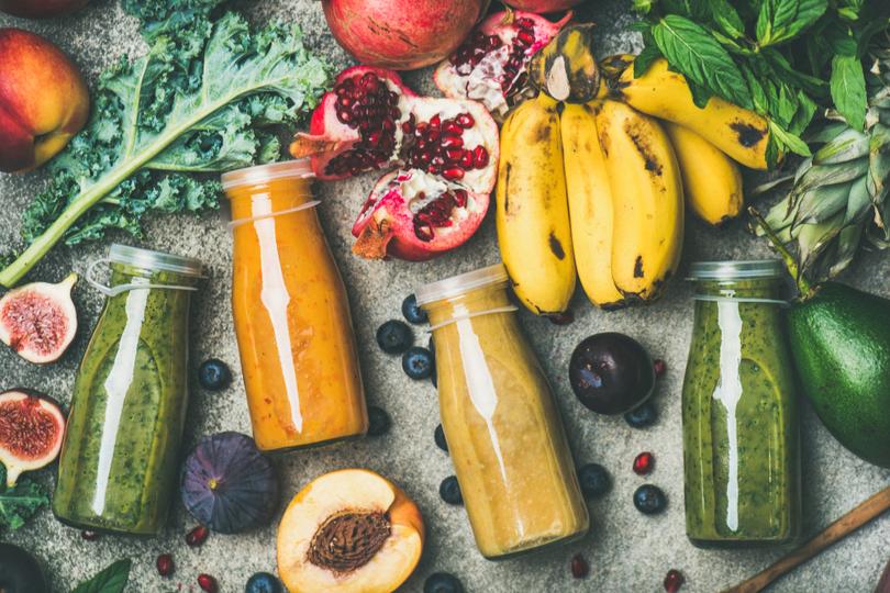 Receitas de vitaminas para começar o dia com tudo
